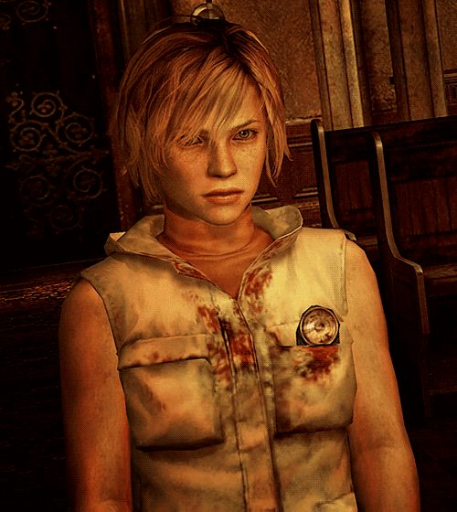"""○○○  A very angry Heather from """"Silent Hill 3."""""""