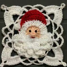 Crochet, granny para Navidad