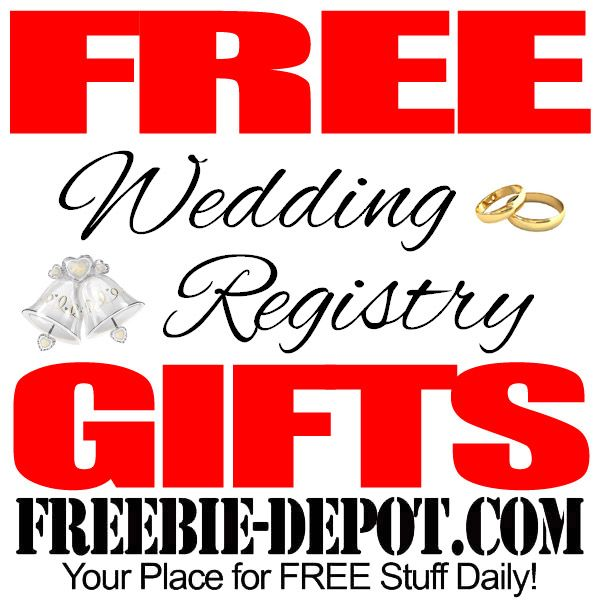 Free wedding registry gifts get these free gifts from for Home depot wedding gift registry