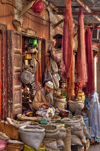 :::: ✿⊱╮☼ ☾ PINTEREST.COM christiancross ☀❤•♥•* :::  Medina Marrakech -already went there *-*