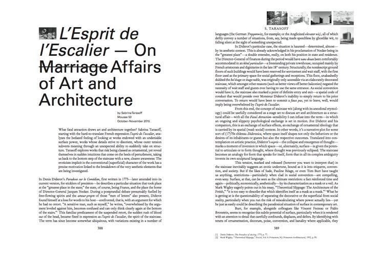 Mousse Magazine 56 ~ 2006–2016: A SMALL ANTHOLOGY #moussemagazine #contemporaryart #art #magazine #sabrinatarasoff