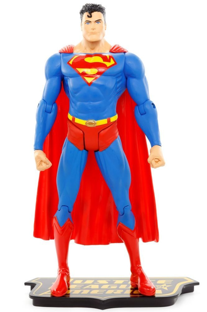 "DC Direct Justice League of America Series 1 SUPERMAN 6.75"" Action Figure 2007 #DCDirect"