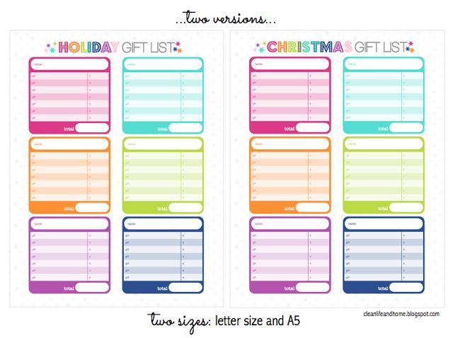 73 best Free Holiday Planner Printables images on Pinterest | Free ...