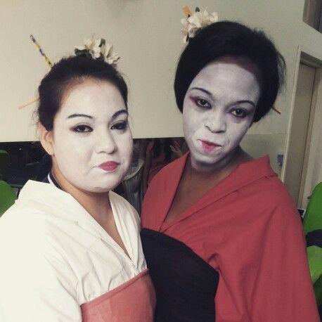 Makeup geisha