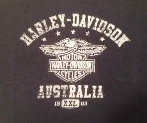 T-shirt Harley Davidson Australia