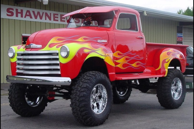 Chevy Hot Rod! Best car to not ruin by lifting and putting ugly flames on