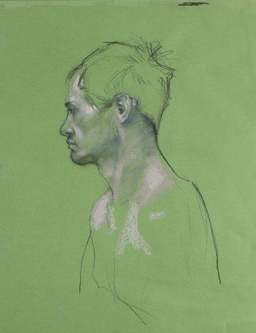 """H. Craig Hanna. """"Green Man-Homme vert"""""""