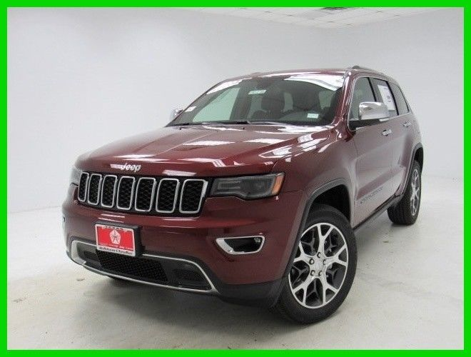 Ebay 2019 Jeep Grand Cherokee Limited 2019 Limited New 3 6l V6