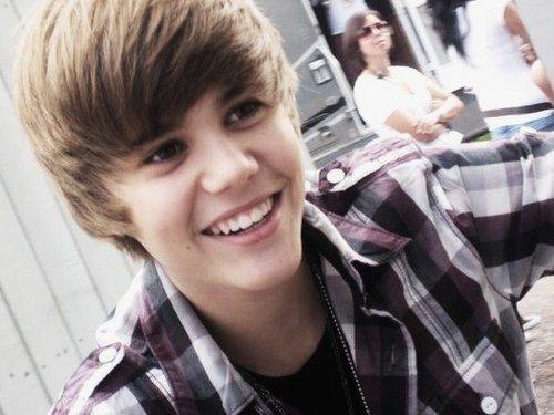 He has a cute smile.