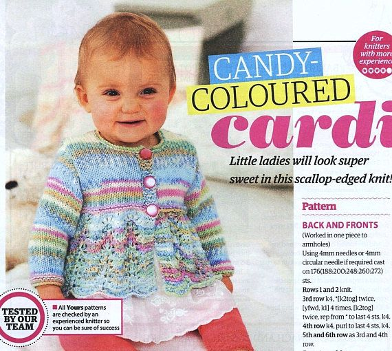 Candy-Coloured Lacy Summer Cardi for Baby Girls, Toddlers & Infants.