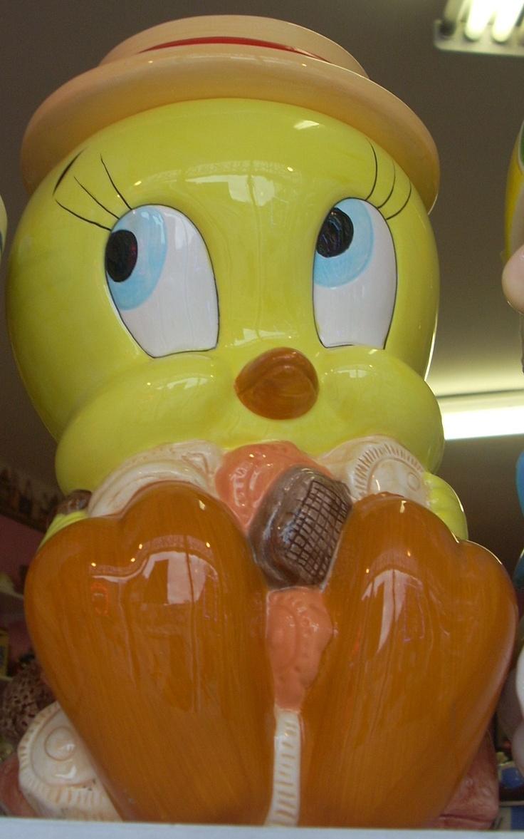 Wb Tweety Bird Cookie Jar Collectors Quest On Pinterest