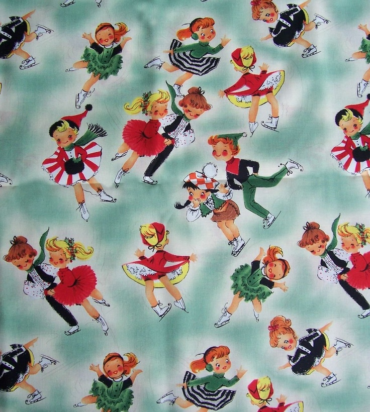 Christmas vintage wrapping paper | Vintage Christmas ...