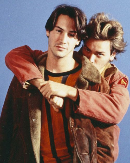 Keanu Reeves and River Phoenix had one of the most notorious...