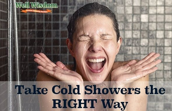 taking cold showers  the right way