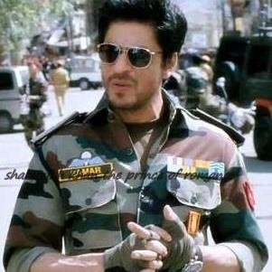 Major Samar Anand Indian Army from movie Jab Tak Hai Jaan.