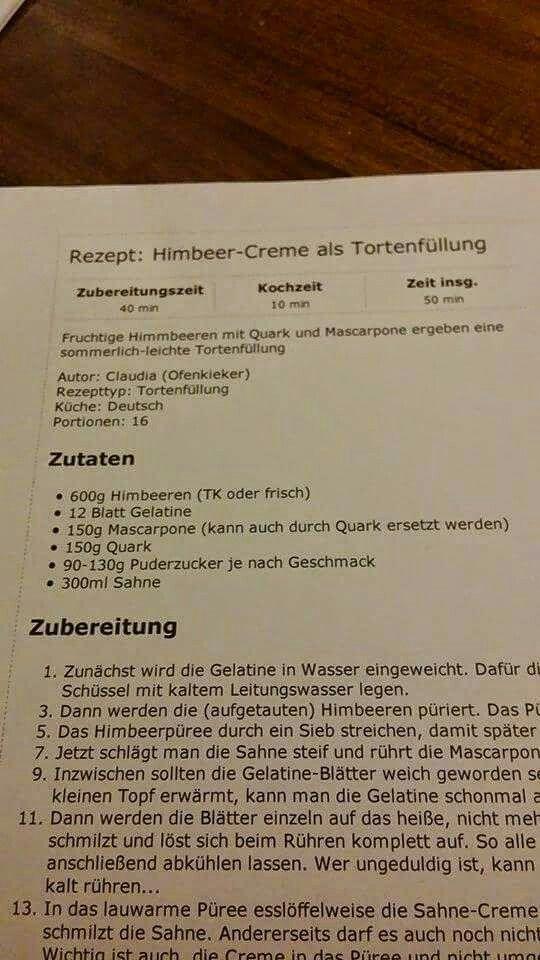 Himbeer Creme 2