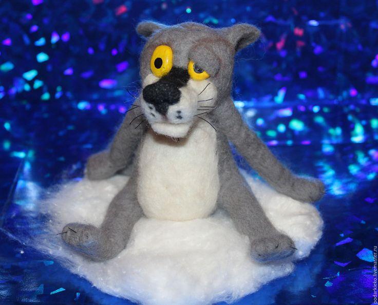 """Игрушка волк из мультфильма """"Жил был пес"""" – купить в интернет-магазине на Ярмарке Мастеров с доставкой"""