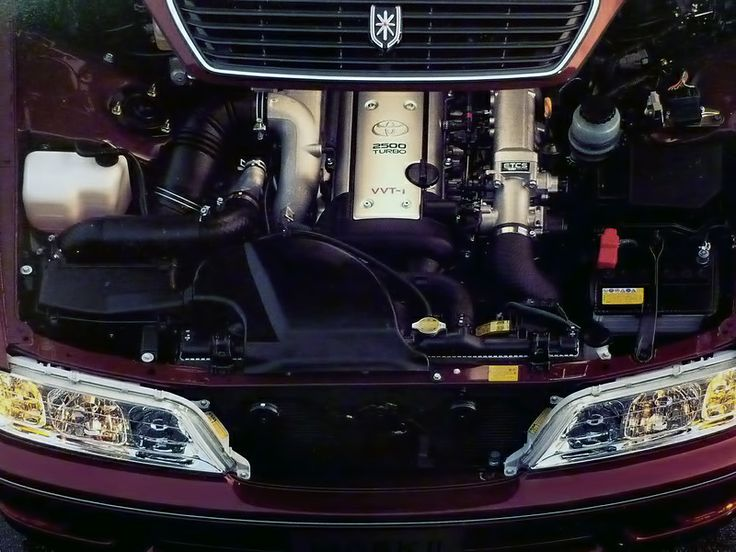 JZX100 Mark 2 1JZ GTE VVTi Engine Bay | Engines And Motors | Pinterest |  Engine