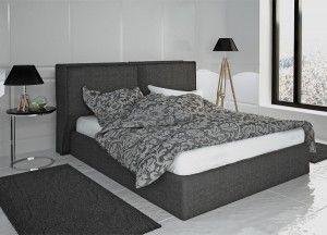 Nτυμένο Κρεβάτι ΔΑΦΝΗ με στρώμα. Διαστάσεις : 160 Χ 200 cm. Σε μεγάλη ποικιλία υφασμάτων. Δυνατότητα κατασκευής και με αποθηκευτικό χώρο.