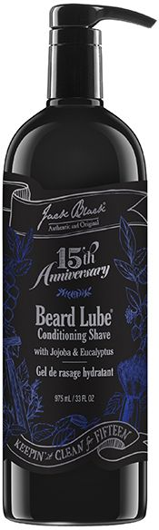 Jack Black Beard Lube Special Value Size Pump by 33oz Shave Cream)