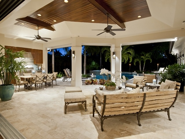 Great outdoor space in this Park Shore home in Naples, FL.