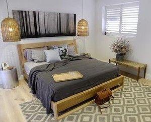 Ayden and Jess' master bedroom.