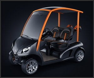 The Garia Mansory is the supercar of golf carts...love it!