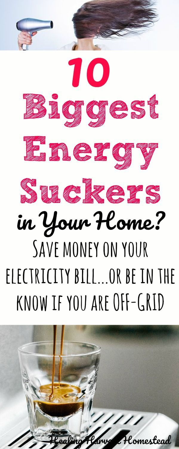 What Appliances Use The Most Electricity In Your House Whether You Are Off Grid Or Pay A Utility Bill Find Out Which Off The Grid Save Energy Save Money Grid