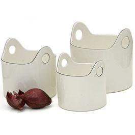 Just Scandinavian - 3 piece set made in stoneware - oven, microwave & dishwasher safe