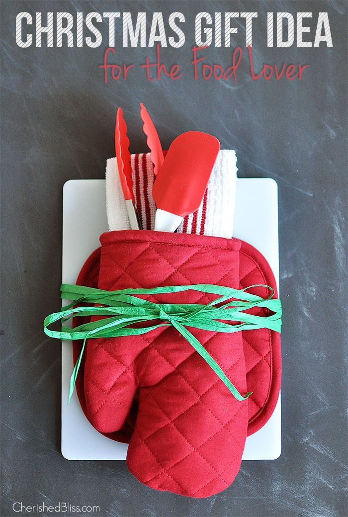 Christmas Gift Idea | Creative a fun and festive Christmas present for any food lover!