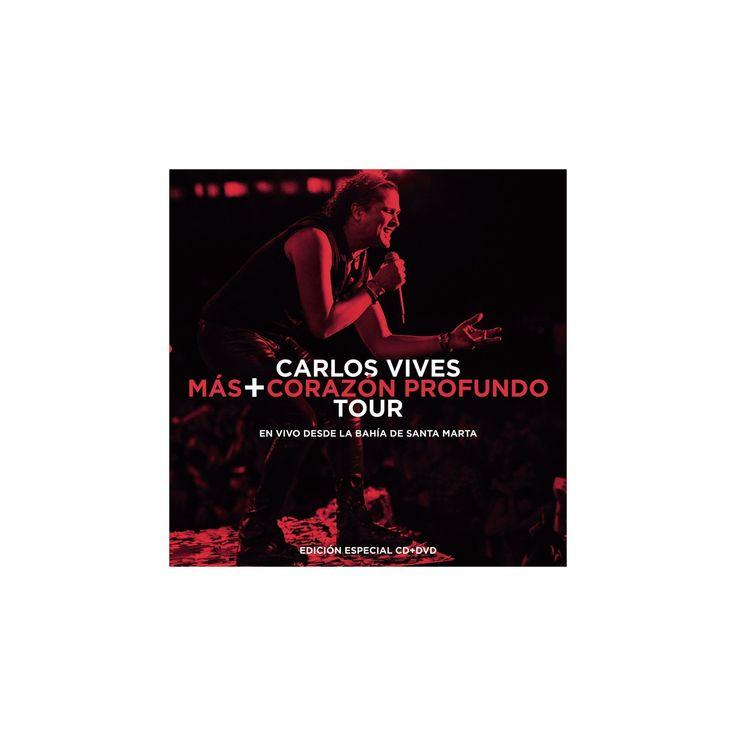 Carlos vives - Mas/Corazon profundo tour:En vivo des (CD)