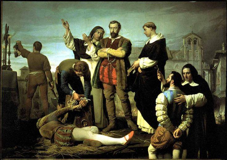 Ejecución de los Comuneros de Castilla. Gisbert Pérez, Antonio. 1860. Congreso de los Diputados.