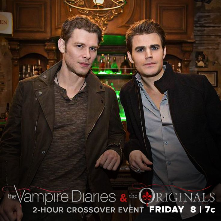 Catch up on the latest episodes of TVD and The Originals on CWTV.com or The CW App before the 2-hour crossover event this FRIDAY, starting at 8/7c.