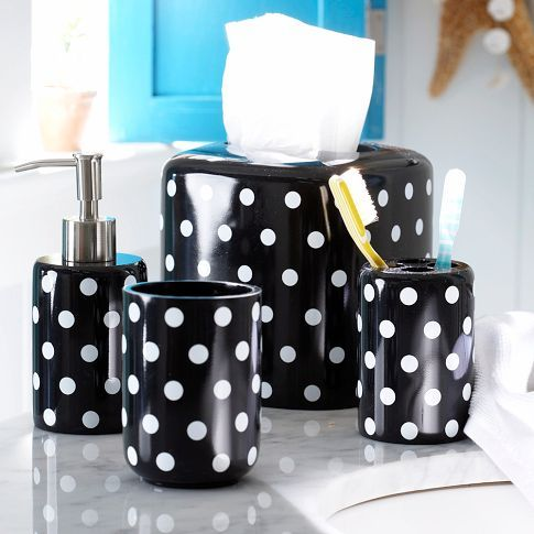 1000 Images About Polka Dots In Bathroom On Pinterest Polka Dots Gold Polka Dots And Bath