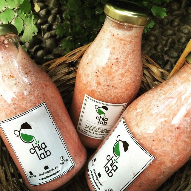 Berry chia Kefir from @chialab is not just a normal juice or smoothie, it's a healthy probiotic drinks with chia seeds. Location: Jakarta
