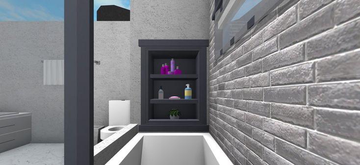 Bloxburginspiration Bloxburg Homes Twitter House Layouts Bathroom Rooms