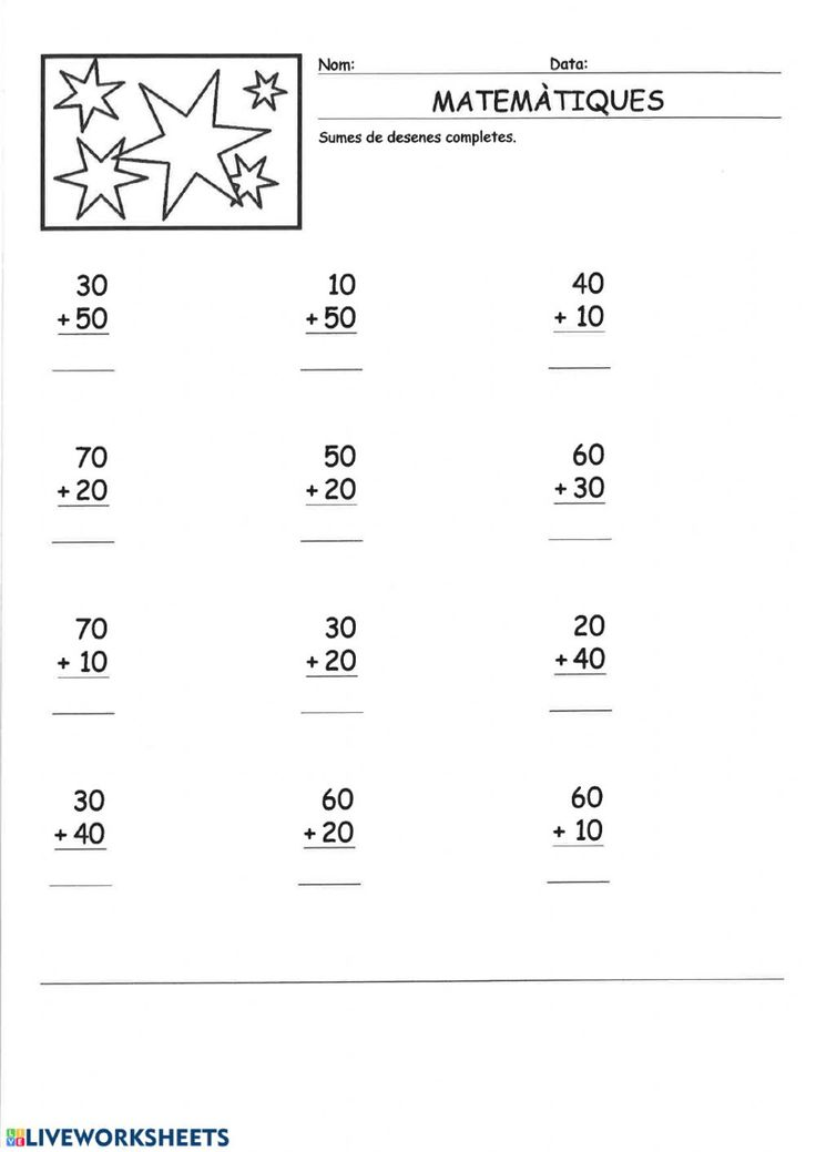 Ejercicio de Sumes Math Equations, Texts, Kids Math, Interactive Notebooks, Math Games, Note Cards