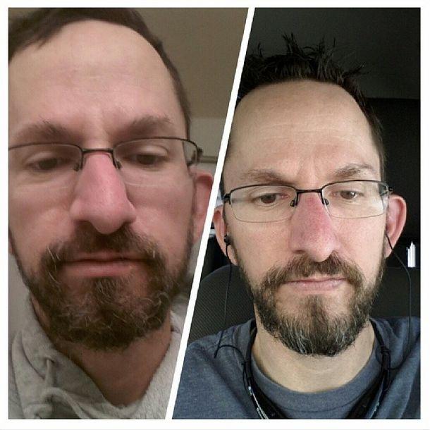 how to put on beard oil