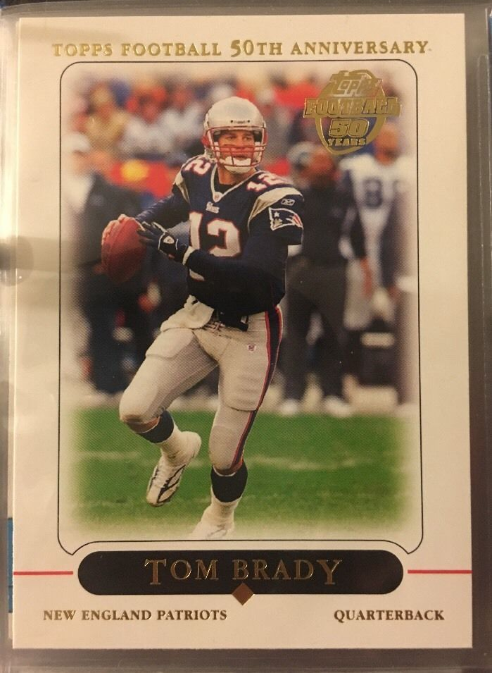2005 Topps Tom Brady 10 New England Patriots Near Mint Combined s H | eBay