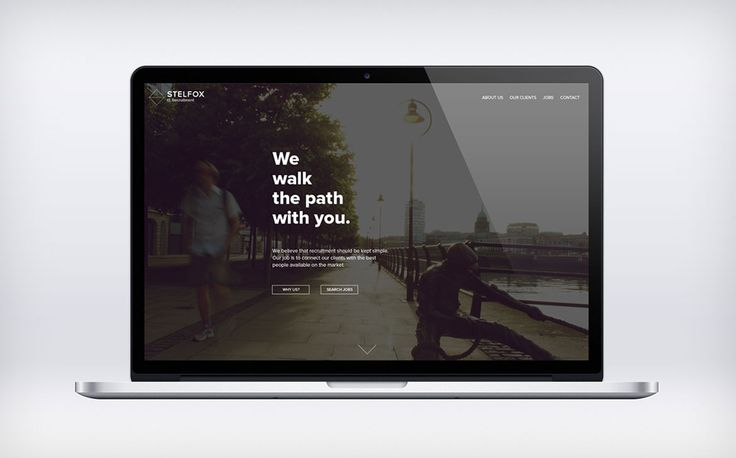 "Whilst designing the new website for Stelfox IT Recruitment, we created the tagline ""We walk the path with you."" The intention this tagline is to become a company mantra as recruitment is about helping an individual progress on their career path.  #recruitment #WordPress #webdesign #Dublin #Ireland"