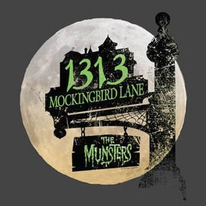 The Munsters 1313 Mockingbird Lane T-ShirtMega Cool!!!
