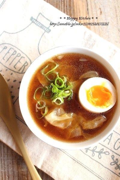 キャベツたっぷり*醤油ラーメン味の簡単スープ by たっきーママ(奥田 ...