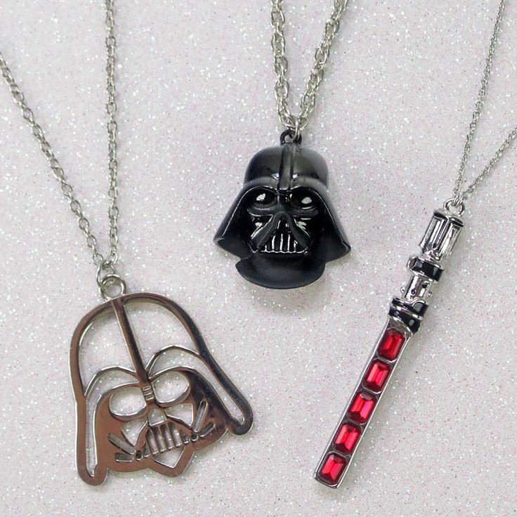 Star Wars Darth Vader Lightsaber necklaces jewelry ⭐️ Star Wars fashion ⭐️ Geek Fashion ⭐️ Star Wars Style ⭐️ Geek Chic ⭐️
