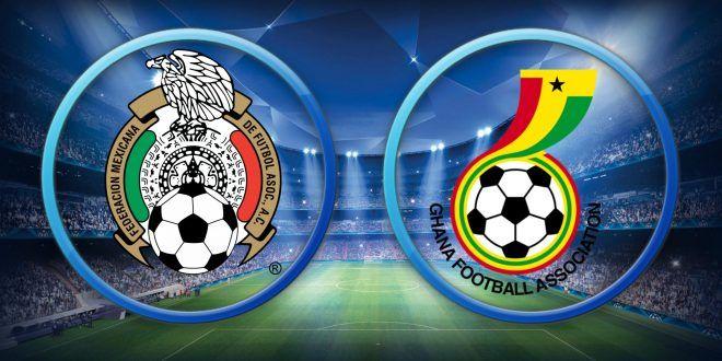 Ver México vs Ghana EN VIVO Online Partido Amistoso 28 Junio 2017