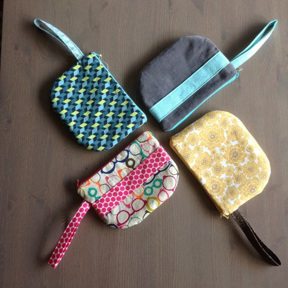Clutch / Wristlet Purse by TreeTownBoutique on Etsy