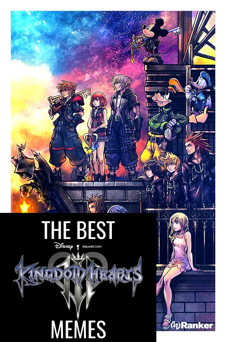 The Best Kingdom Hearts Memes That Prove It Was Worth The Wait Kingdom Hearts Kingdom Memes