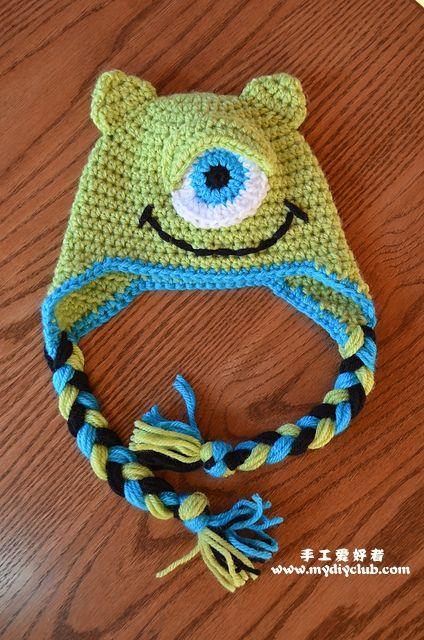 patterns Fare un cappello mostro bambino