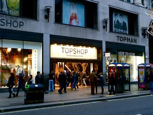 I know this particular shot is on Oxford street in London... But it makes me miss Liverpool :(