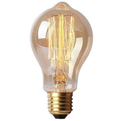 Perfect Splink Vintage E Edison Gl hlampe Gl hbirne V W A Lampe Nostalgie Retro Industrie Stil Beleuchtung Splink