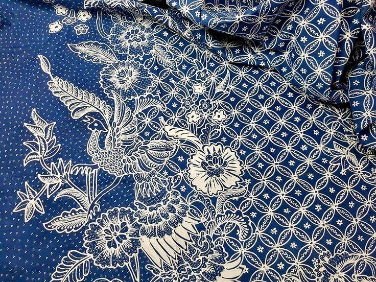 Batik tulis Pekalongan.  Private collection.